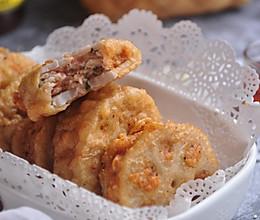 鲜虾入味夹藕天成的做法
