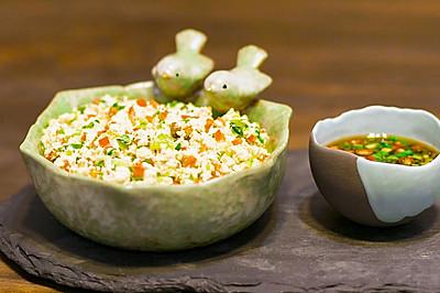 青菜豆腐盏!四棵青菜一块豆腐,做出米其林三星餐厅招牌菜