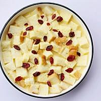 #带着零食去旅行!#酥脆软滑的蛋奶吐司布丁的做法图解10