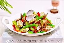 #硬核菜谱制作人#苦瓜辣炒花蛤的做法