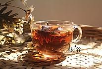 洛神花玫瑰茶的做法
