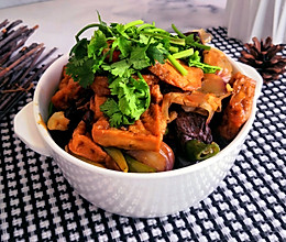 安徽街边小吃~猪血豆腐的做法