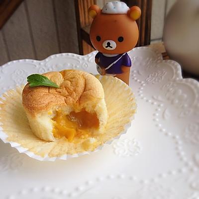 芒果流心纸杯蛋糕