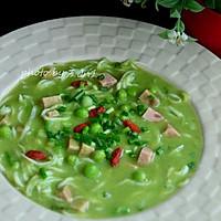 豌豆银鱼汤的做法图解11