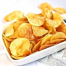 #夏天夜宵High起来!#炸薯片