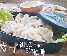 牛肉荠菜饺的做法