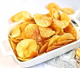 #夏天夜宵High起来!#炸薯片的做法