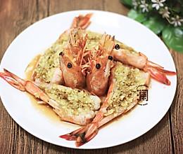 经典蒜香大对虾的做法