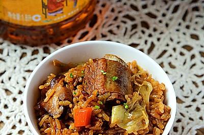 香菇排骨焖饭#金龙鱼外婆乡小榨菜籽油#