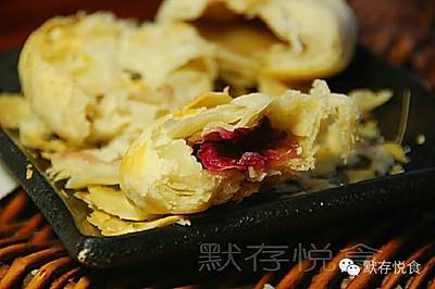 苏式玫瑰鲜花月饼