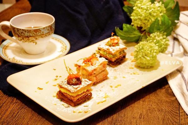 榛子拿破仑(内含4款口味)#美的FUN烤箱 焙有FUN儿#的做法