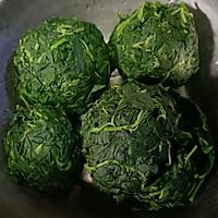 #硬核菜谱制作人#野菜发面大包子的做法图解3