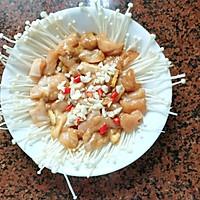 金针菇蒸鸡胸肉的做法图解10