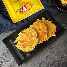 香煎土豆丝饼#鲜有赞,爱有伴#