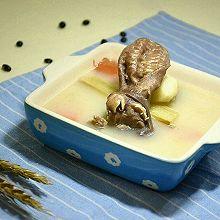 竹蔗红萝卜马蹄羊头汤#比暖男更暖的是#