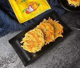 香煎土豆丝饼#鲜有赞,爱有伴#的做法