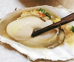 蒜蓉蒸生蚝的做法