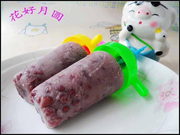 红豆冰棒的做法