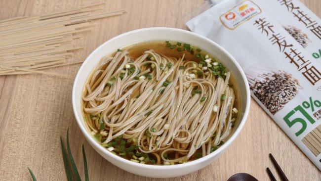 清汤荞麦面的做法