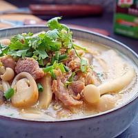 鲜菇杂菌浓汤的做法图解17