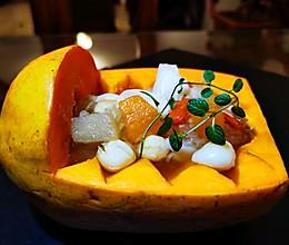 木瓜银耳莲子白梨枸杞子冰糖羹的做法
