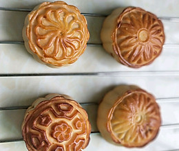 豆沙馅广式月饼的做法