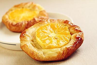 柳橙丹麦面包