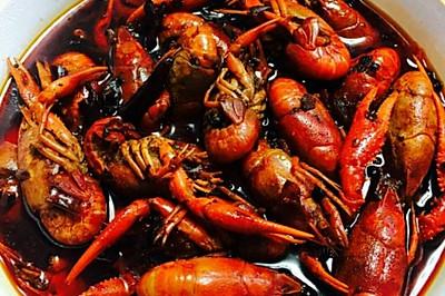 油焖麻辣小龙虾