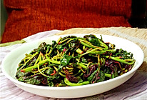 排毒强身:炝炒汉菜的做法