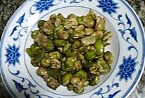 椒盐胡豆的做法