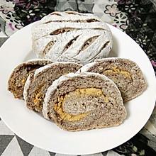 肉松豆沙面包