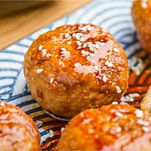 口蘑小肉饼