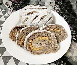 肉松豆沙面包的做法