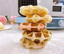 ‼️海苔肉松华夫饼㊙️酵母版的做法