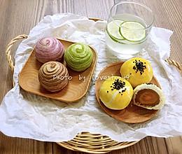 莲蓉蛋黄酥&杂花酥(黄油版)的做法