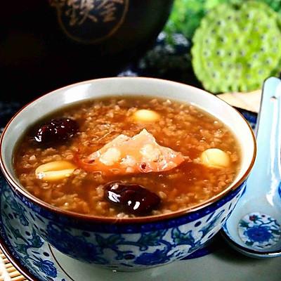 土灶铁釜糖粥藕
