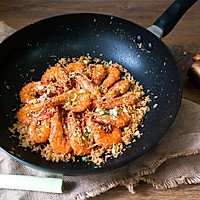 避风塘虾#MEYER·焕新厨房,唤醒美味#的做法图解14