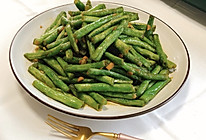 爆炒豇豆的做法