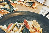 薄饼皮自制披萨的做法