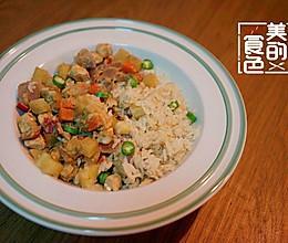 青咖喱椰浆饭的做法