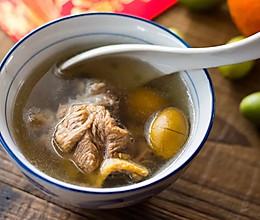 青橄榄炖汤的做法