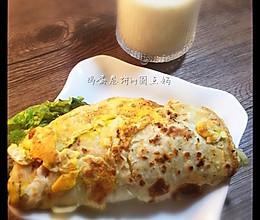 鸡蛋卷饼#孩子早餐最爱的饼儿#的做法