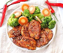 香煎孜然鸡胸肉的做法