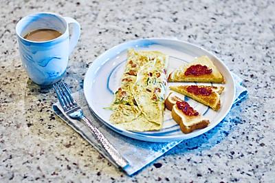 早餐才是真浪漫: 一盘炒鸡蛋#520,美食撩动TA的心!#