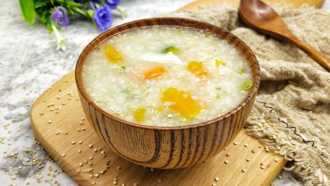 宝宝辅食之蔬菜藜麦粥的做法