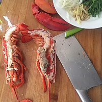 蒜蓉芝士焗龙虾的做法图解2