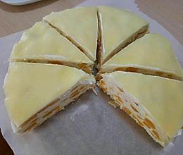 8寸芒果千层蛋糕的做法