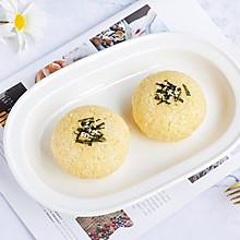 蛋黄肉丝芝士饭团