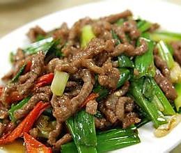 狠下饭菜——葱爆牛肉的做法