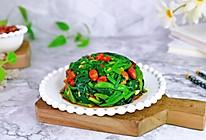 #餐桌上的春日限定#菠菜拌花生的做法